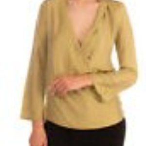 Patricia Pepe NWT Silk Blend Blouse